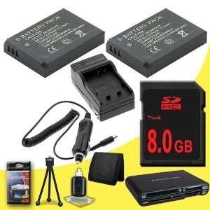 Card + Multi Card USB Reader + Memory Card Wallet + Deluxe Starter Kit