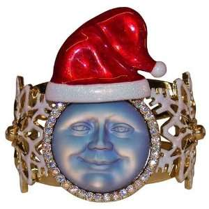 Kirks Folly Seaview Moon Santa Cuff Bracelet
