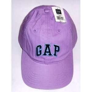 Gap Logo Purple Base Ball Cap Hat Size M/L Womens