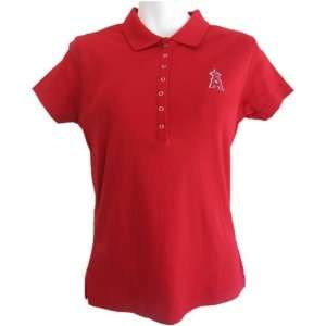 Angels Womens Polo Shirt   Anaheim Angels Remarkable Polo