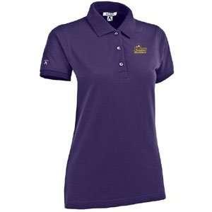 East Carolina Womens Classic Pique Polo Shirt   Small