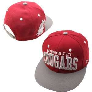 Zephyr Washington State Cougars Super Star Adjustable Hat