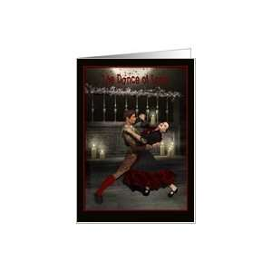 The Dance of Love Valentines Day, Holiday, Card Health