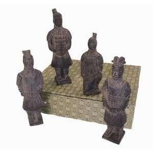 Terra Cotta Warriors   Set of 4