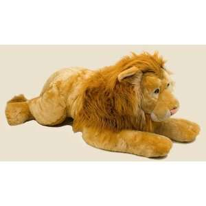 Lying Lion Plush 45 Stuffed Animal Toys & Games