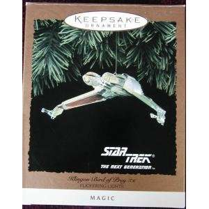 Keepsake Ornament Star Trek Klingon Bird of Prey Everything Else