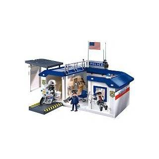 Playmobil Police Headquarters: Large City House with