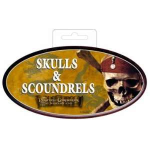 Pirates of the Caribbean At Worlds End XZ Oval Sticker  Toys