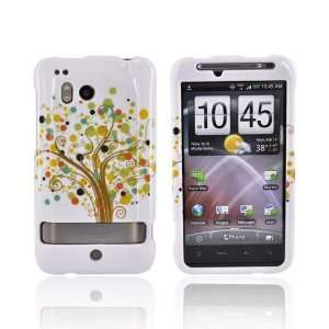 WHITE Hard Case Cover For HTC Thunderbolt Cell Phones & Accessories