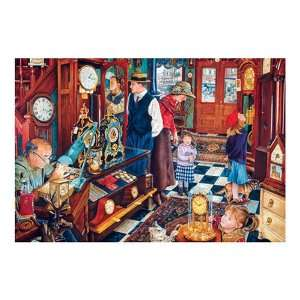 The Clock Shop Jigsaw Puzzle 1000pc Toys & Games
