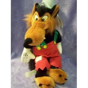 Disney Big Bad Wolf Plush 15 Everything Else