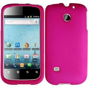 Hot Pink Hard Case Cover for Huawei Ascend 2 M865 Cell