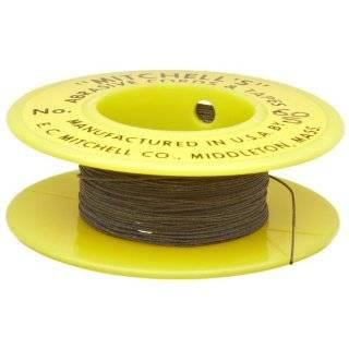 Mitchell Abrasives 66 S Round Abrasive Cord, Silicon Carbide 280 Grit
