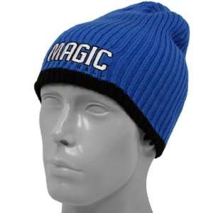 adidas Orlando Magic Royal Blue Cuffless Knit Beanie