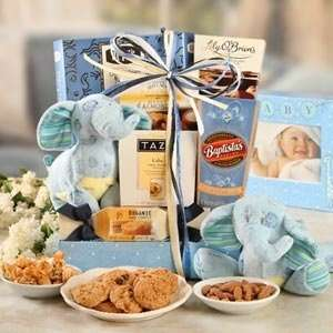 Bundle of Joy Baby Boy Gift Basket Grocery & Gourmet Food