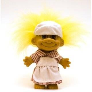 My Lucky CANDY STRIPER NURSE Troll Doll (Yellow Hair)
