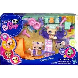 Littlest Pet Shop Figures Themed Playset Caring Clinic Cat, Mouse