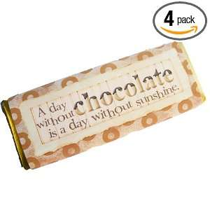 Olde Naples Chocolate A Day Without Chocolate Dark Chocolate Candy Bar