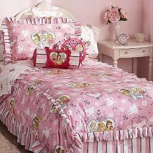 Paris Princess Duvet Twin Set Cinderella Belle Aurora