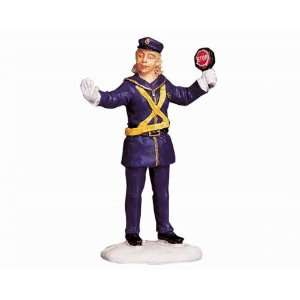 Village Collection The Crossing Guard Figurine #92347