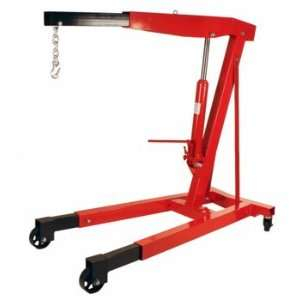 Steel 3 Ton 6000 LB Heavy Duty Engine Hoist Cherry Picker Shop Crane