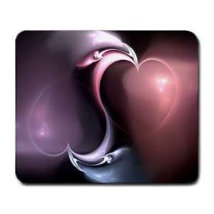 New Color Heart Romantic Love Computer Mousepad Mouse Pad