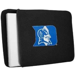 Duke Blue Devils Black Mesh Laptop Sleeve Sports