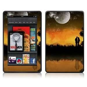 COSMOS ® 095 Love Story pattern Skin Decal for Kindle