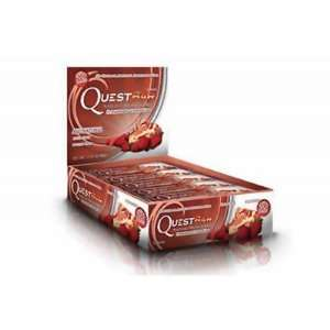 Quest Bar  Natural Protein Bar, Strawberry Cheesecake, 2.12oz each (12