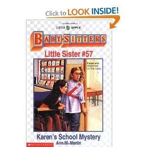 Karens School Mystery (Baby Sitters Little Sister #57