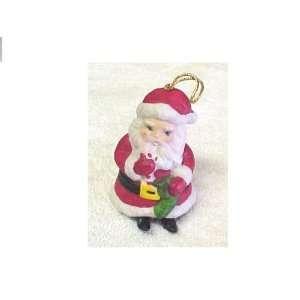 Porcelain Figural Santa Claus Bell Everything Else