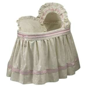 Baby Doll Bedding Queen Bassinet Set, Pink: Baby