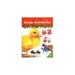 Fun   On the Farm (Sticker Activity Fun) (9781843323402) Books