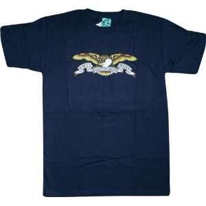 Anti Hero T Shirt Eagle [Small] Navy