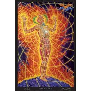 Holy Fire Poster Signed By Alex Grey: Everything Else