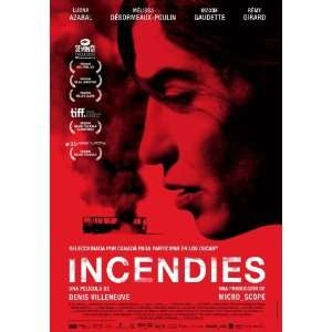 Incendies Poster Movie Spanish 11 x 17 Inches   28cm x 44cm Richard