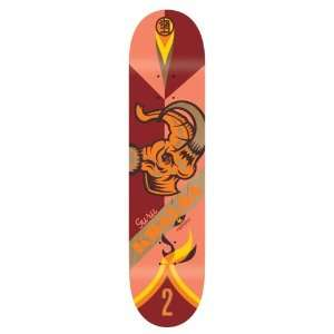 Habitat Guru Khalsa Prehistoric Pennant Skate Deck (8 X 31.75 Inch