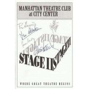 The Last Yankee 1993 Cast Signed Program w/ John Heard   Autographed