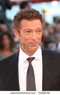 stock photo  VENICE   SEPTEMBER 01 Actor Vincent Cassel attends the