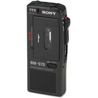 BM 575 Voice Activated Micro Cassette Recorder iPods & MP3 Players