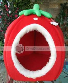 Wholesale Portable Indoor Strawberry Dog House   DinoDirect