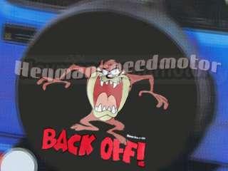Looney Tunes Taz 4x4 Car Spare Wheel Tire Cover 264# |