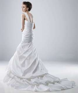 One Shoulder Mermaid wedding dress bridal gown Size Free colour free