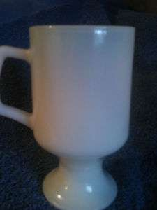 VINTAGE,ANTIQUE ,GLASS, MILK WHITE,DRINKING GLASS