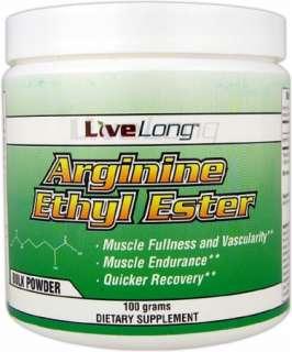 LiveLong Nutrition Arginine Ethyl Ester at Bodybuilding Lowest