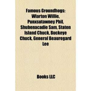 Chuck, Buckeye Chuck, General Beauregard Lee  Bücher