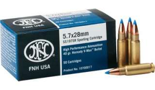 FNH 5.7x28 Bulk Ammunition, Handgun Ammunition, Ammunition, Shooting