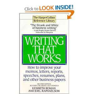 Writing That Works   Second Edition (9780061093814