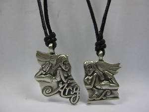 ANGEL PEWER PENDANS FRIEND NECKLACES BFF N271 |