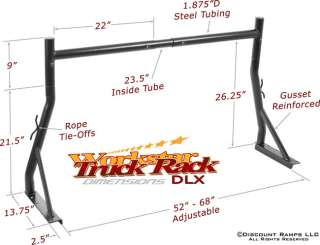 Workstar Pickup Truck Rack Product Features: